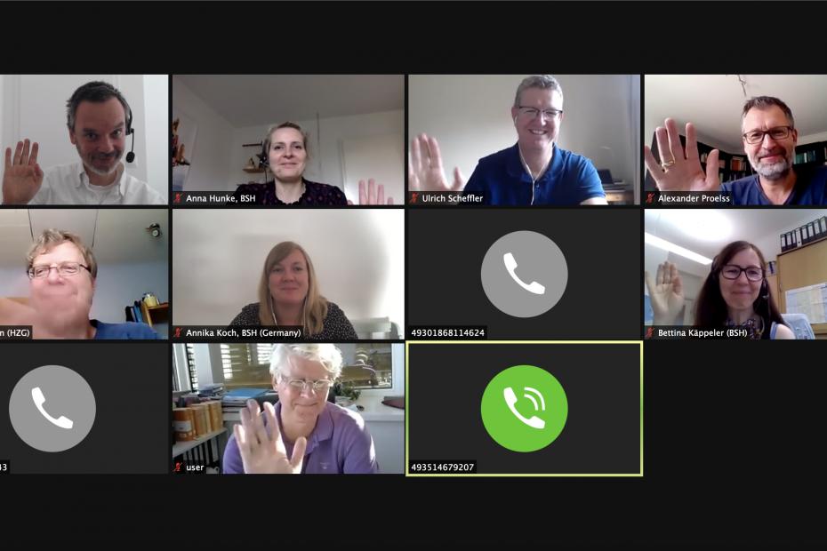 Group picture scientific advisory board